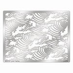 Stampendous - Metal Stencil - Waves