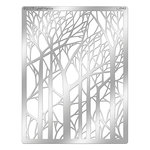 Stampendous - Metal Stencil - Bare Trees