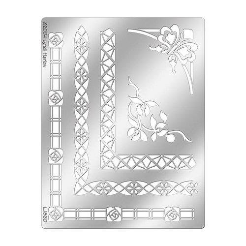 Stampendous - Metal Stencil - Borders Combo