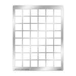 Stampendous - Metal Stencil - Multiple Tile Grid