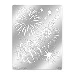 Stampendous - Metal Stencil - Fireworks