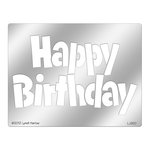 Stampendous - Metal Stencil - Jumbo Happy Birthday