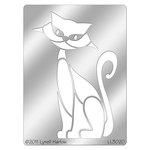 Stampendous - Metal Stencil - Retro Sitting Cat