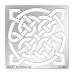 Stampendous - Metal Stencil - Square Knot