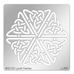Stampendous - Metal Stencil - Celtic Hexagon