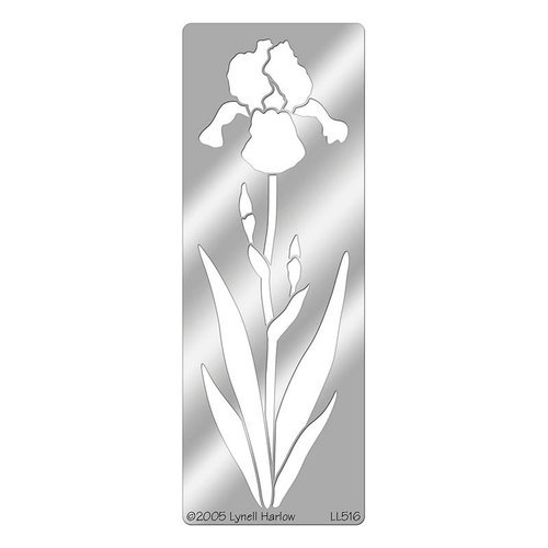 Stampendous - Metal Stencil - Bearded Iris