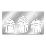 Stampendous - Metal Stencil - Cupcakes