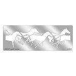 Stampendous - Metal Stencil - Horses