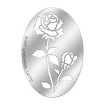 Stampendous - Metal Stencil - Oval Rose