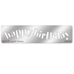 Stampendous - Metal Stencil - Happy Birthday