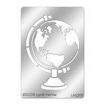 Stampendous - Metal Stencil - Globe