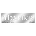 Stampendous - Metal Stencil - Small Thanks