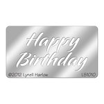 Stampendous - Metal Stencil - Small - Happy Birthday