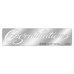 Stampendous - Metal Stencil - Congratulations