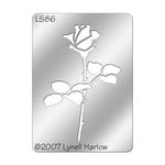 Stampendous - Metal Stencil - Small - Stemmed Rose