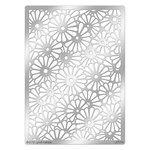 Stampendous - Metal Stencil - Daisy Background