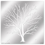 Stampendous - Metal Stencil - Leafless Tree