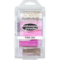Stampendous - Embossing Powder Kit - Pink Chic