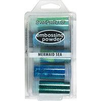 Stampendous - Embossing Powder Kit - Mermaid Sea