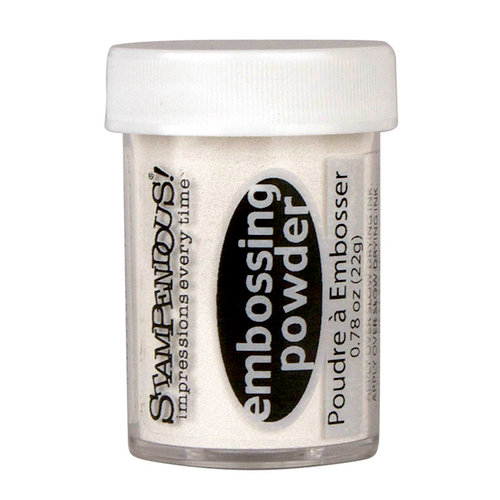 Stampendous - Opaque Embossing Powder - White