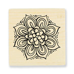 Stampendous - Wood Mounted Stamps - Mandala Bloom