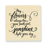 Stampendous - Wood Mounted Stamps - May Flowers