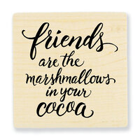 Stampendous - Wood Mounted Stamps - Marshmallow Friends