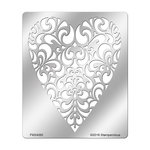 Stampendous - Metal Stencil - Ornate Heart