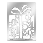 Stampendous - Metal Stencil - Numerical Gift
