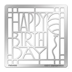 Stampendous - Metal Stencil - Birthday Ensemble