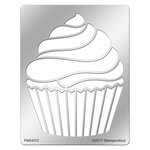Stampendous - Metal Stencil - Creamy Cupcake