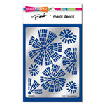 Stampendous - Metal Stencil - Tiled Blooms