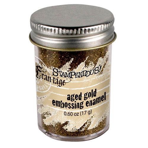 Stampendous - Frantage - Embossing Enamels - Aged Gold