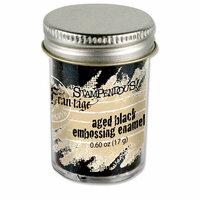 Stampendous - Frantage - Embossing Enamels - Aged Black