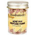 Stampendous - Frantage - Embossing Enamels - Aged Rose