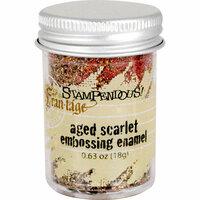 Stampendous - Frantage - Embossing Enamels - Aged Scarlet