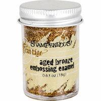 Stampendous - Frantage - Embossing Enamels - Aged Bronze