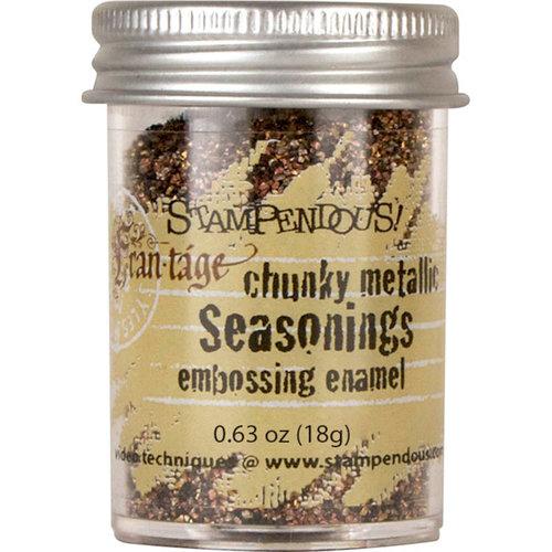 Stampendous - Deep Impressions - Chunky Embossing Enamels - Seasonings
