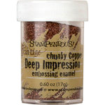 Stampendous - Deep Impressions - Chunky Embossing Enamels - Copper