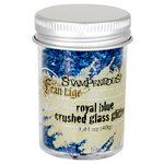Stampendous - Frantage - Glass Glitter - Royal Blue