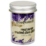 Stampendous - Frantage - Glass Glitter - Royal Purple