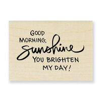 Stampendous - Wood Mounted Stamps - Morning Sunshine