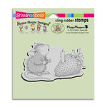 Stampendous - House Mouse Designs - Cling Mounted Rubber Stamps - Strawberry Wish