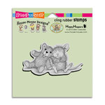 Stampendous - House Mouse Designs - Cling Mounted Rubber Stamps - Teddy Friend
