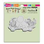 Stampendous - House Mouse Designs - Cling Mounted Rubber Stamps - Bubble Popper