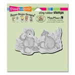 Stampendous - House Mouse Designs - Cling Mounted Rubber Stamps - Acorn Cap