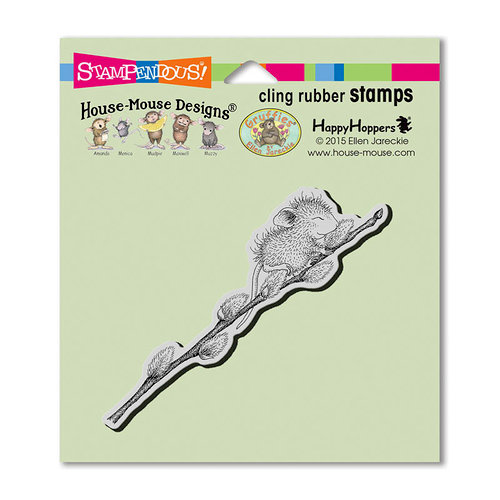 Stampendous - House Mouse Designs - Cling Mounted Rubber Stamps - Willow Climb