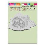 Stampendous - House Mouse Designs - Christmas - Cling Mounted Rubber Stamps - Ornament Warmth