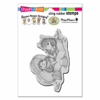 Stampendous - House Mouse Designs - Cling Mounted Rubber Stamps - Heartfelt Chocolates