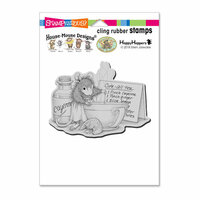 Stampendous - House Mouse Designs - Cling Mounted Rubber Stamps - Cure All Tea